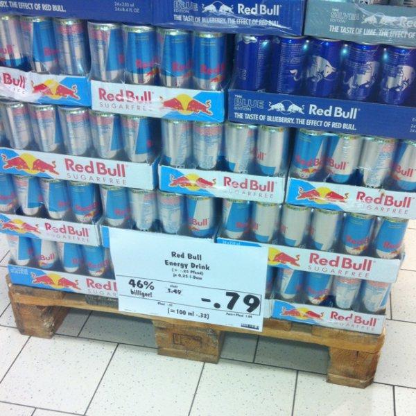Red Bull / red. Bull Sugar free @ kaufland schwetzingen