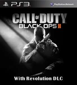 Call of Duty Black Ops 2 mit Revolution DLC - PS3 [Digital Code] für 18,38€