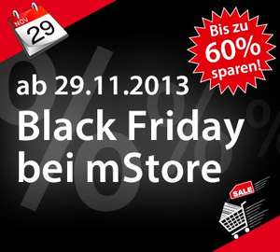 Black Friday Sale bei mStore.de