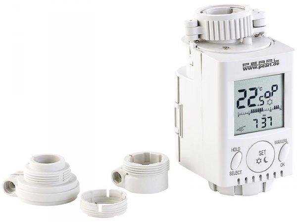 4x automatische Thermostate  programmierbar @Pearl