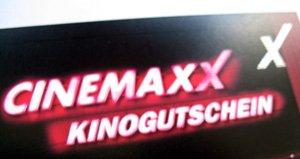 4 CinemaxX Kinogutscheine inkl. Zuschläge für 25,40€  (ergibt 6,35€ pro Ticket)