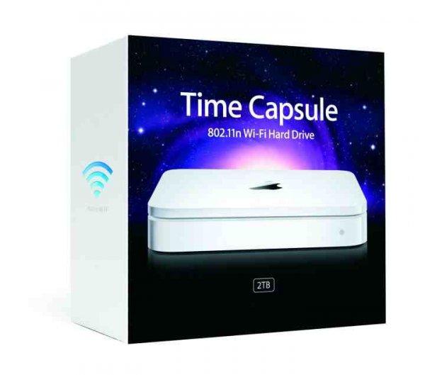Apple Time Capsule 2 TB MD032Z/A für 169€ @Comtech
