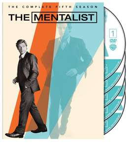 The Mentalist - The Complete Fifth Season (2012)-  fünfte Staffel im OT (Originalton) - Black Friday Amazon.com Deal - 12,07 €