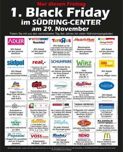 [Lokal Paderborn] Südring Center Paderborn - 1. Black Friday