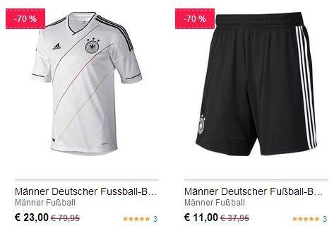 Adidas DFB 2012/2013 Männer-Heimshorts (11,00€) und -Trikots (23,00€) und Frauentrikots (20€) VSK-frei