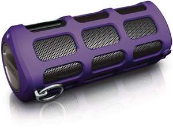 Philips SHOQBOX Bluetooth Speaker SB7260 violett für 54€ @Amazon.com