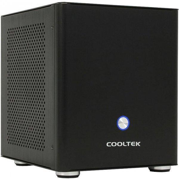 Cooltek Coolcube Mini schwarz (ITX, Aluminium, USB 3.0) @ZackZack.de