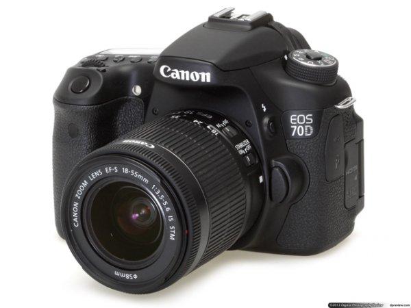 Canon EOS 70D Kit 18-55mm IS STM 966€ oder nur Body für 888€ kostenloser Versand @ redcoon