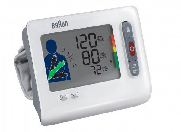 [Amazon.de und Saturn.de] Braun BPW4100TrueScan Blutdruckmessgerät mit Handgelenksmanschette für 30€