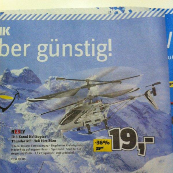 [Offline] 3-Kanal Helikopter bei Conrad von 29,95€ auf 19€!