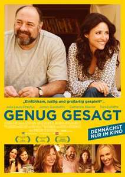 """kostenlos ins Kino - """"Genug gesagt"""" am 09.12.2013"""