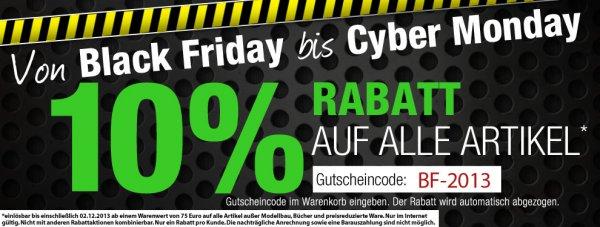 10% auf alles bei Kotte und Zeller Black Friday