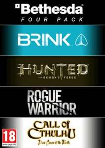 [Steam] Bethesda 4-Pack (Brink, Hunted, Rogue Warrior, Call of Cthulhu)