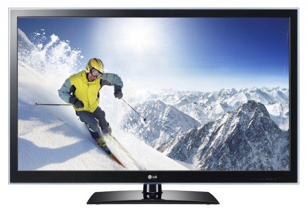 [Amazon WHD] LG 47LV470S (47 Zoll) LED-Backlight-Fernseher, EEK B (Full-HD, 400Hz MCI, DVB-T/C/S ,CI+, Smart TV) für 359,29