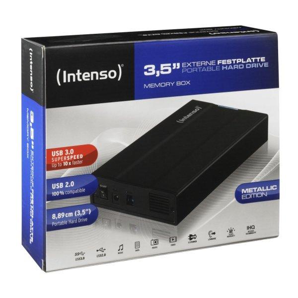 [Conrad] Intenso MemoryBox USB 3.0 3TB (externe Festplatte mit USB3 Anschluss)