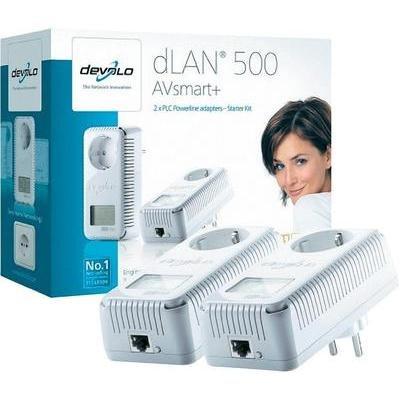[Conrad Online] devolo dLAN 500 AVsmart+ Starter Kit | VSK-frei 59€