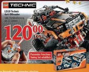 Globus Kaiserslautern - 4x4 Offroader Lego Technic 9398