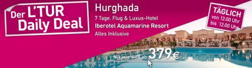 7 Tage all-inklusive im 5* Luxushotel in Hurghada ab 379 Euro
