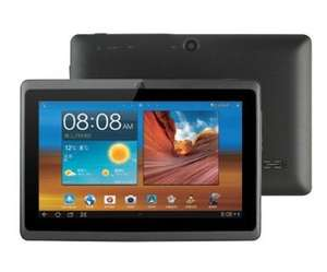 Tablet PC 7 Zoll (17,8cm) 1024x600 Pixel, Bluetooth, 2 Kameras, WiFi, (1,2GHz, 512MB RAM, 4GB HDD, Android) - Rockchip