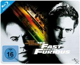 The Fast and the Furious Blu-Ray Steelbook 5,90 EUR bei Media Markt Online