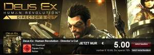 Deus Ex Human Revolution Directors Cut (Steam) [Chillmo]