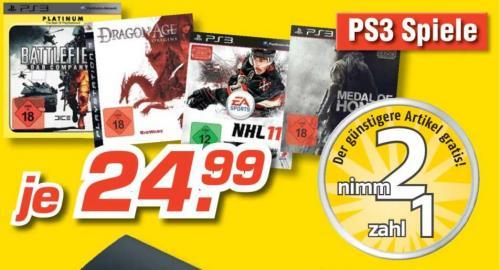 [Offline] 2 für 1 ausgewählte PS3-Spiele @MediMax Andernach