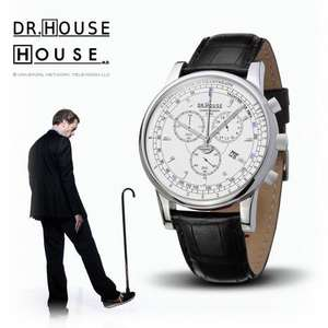 Kronsegler (Glashütte) - Dr. House Herren Chronograph bei Amazon UK