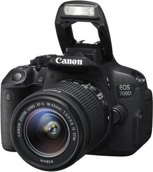 Canon EOS 700D Kit 18-55 mm IS STM + 50€ Cashback für 544,99 € (494,99 € inkl. Cashback) @eglobalcentral