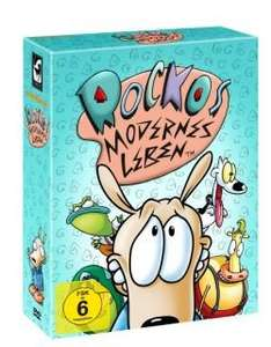 """DVD Box """"Rockos modernes Leben"""" oder """"Aaahh!!! Monster"""" für je 59,95 € + Limitierungsnummer aussuchen"""