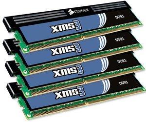 Corsair 16Gb DDR3 (4x4Gb) 1333Mhz CL9