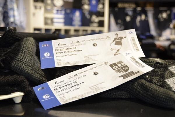 [Offline]  Ab 100€ Einkauf im Schalke04-Fanshop gibts 2 Pokalspieltickets (Wert: 62€-83€) gegen Hoffenheim gratis dazu!