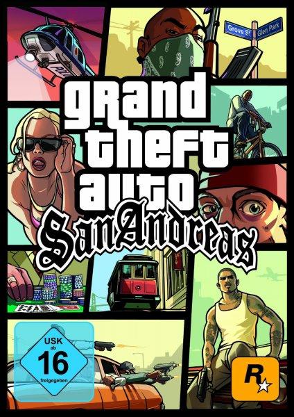 Grand Theft Auto: San Andreas [PC Steam Code] / Grand Theft Auto: Vice City [PC Steam Code]