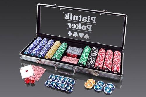 [AmazonWHD]  Piatnik Pro Poker Alukoffer 500 High Gloss Chips