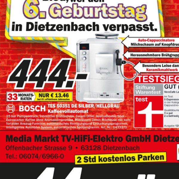 (Lokal) Bosch TES 50351 für 444.- MM Dietzenbach