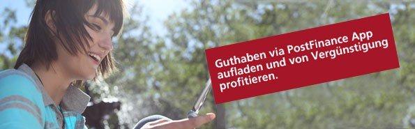 [Schweiz] iTunes®-Guthaben im Wert von CHF 50.- für nur CHF 25.- für Kunden der PostFinance