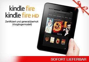 Amazon Kindle Fire für 74,95/ Fire HD für 100 - 126,95 bei Amazon Buy Vip - Preis ist ab -->