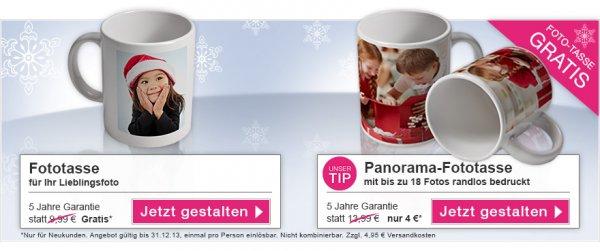 gratis Fototasse für Neukunden +4,95 € VSK