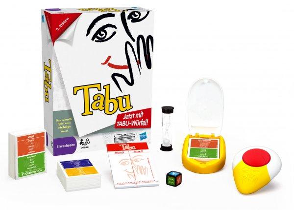 Tabu - Neuauflage 2012, 6. Edition für 14,99€ inkl. VSK (idealo 23,25€)