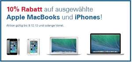 [SCHWEIZ] Digitec: iPhone 5s 16GB für CHF 699 und ausgewählte Macbooks