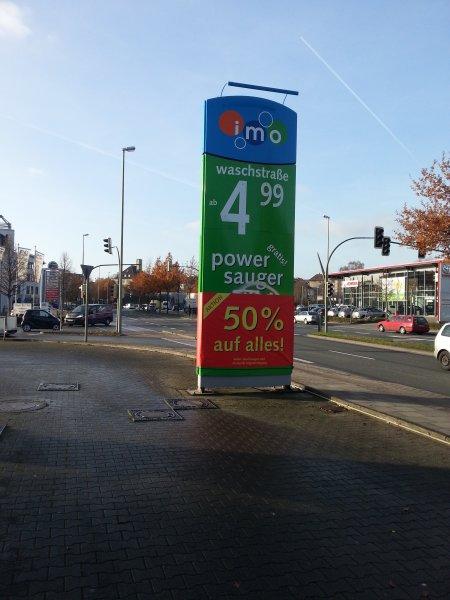 [Lokal Bielefeld] imo Waschstraße 50% auf alles (ab 2,50 Euro)