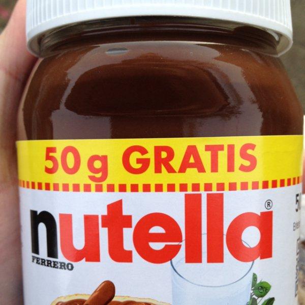 [Nutella-Deal] 500g @ Sky für 1,66 Euro (3,32 Euro/kg)