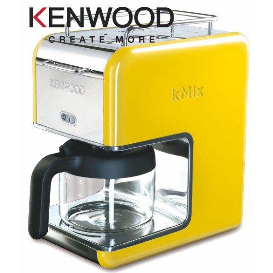 (Mömax) Kennwood Kmix Kaffemaschine gelb 30€ inkl. Vsk. Idealo ab 72€