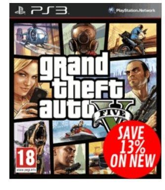 Cyber Monday bei GAME - GTA 5 (PS3/360) für 37,40 € inkl. Versand