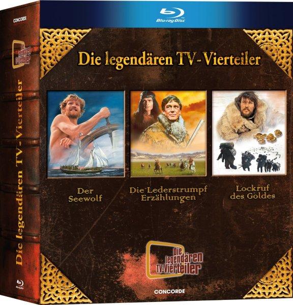 [Amazon.de] Die legendären TV-Vierteiler - Box [Blu-ray; 6-Disc Collection]  ab 18,97€ für Prime-Kunden