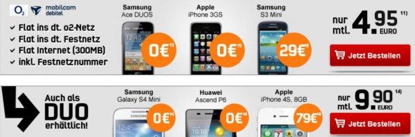 Samsung Galaxy mini S4 Duos I9192 für umgerechnet 276,60€