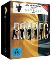 James Bond Jubiläums Collection, 23 DVD für 59€ und andere Boxen sehr günstig @Thalia