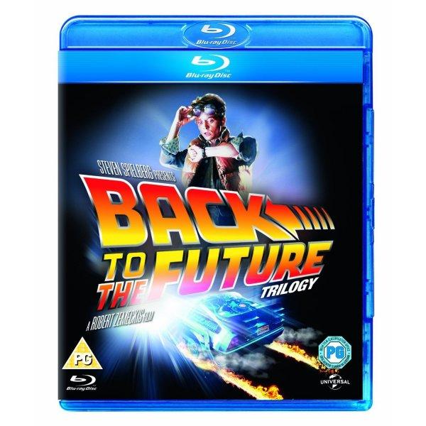 Zurück in die Zukunft Trilogie [Blu-ray] für 12 €