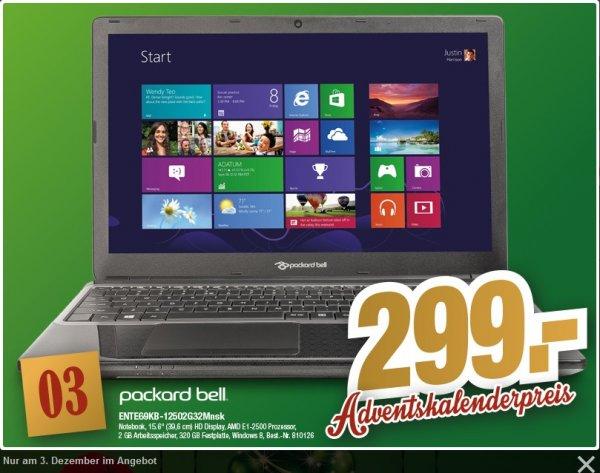 [Offline] PackardBell Einsteigernotebook ENTE69KB-12502G32MNSK