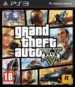 GTA 5 PS3 - 40€