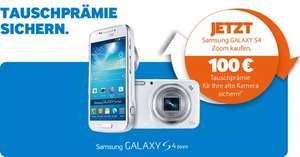 SAMSUNG Galaxy S4 Zoom für 199€ @ Saturn